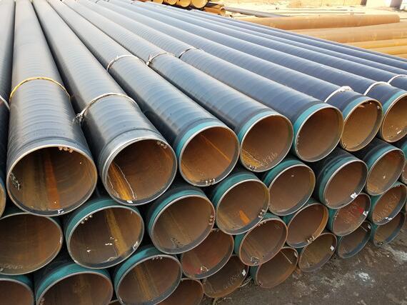 3PE防腐钢管基材包括无缝钢管与螺旋钢管以及直缝钢管
