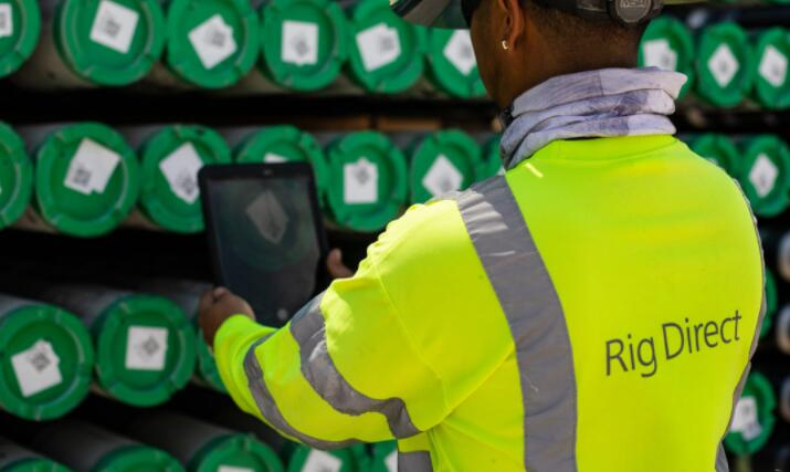 钢管制造商通过电子商务连接到石油钻井平台