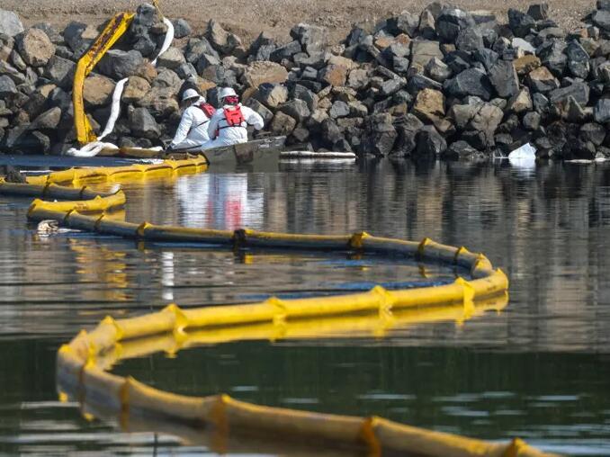 加利福尼亚近海管道可能在泄漏前很久就损坏了