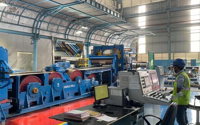 Jindal不锈钢公司委托精密带钢轧机